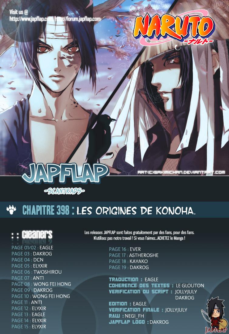 Naruto chapitre 398 - Page 19