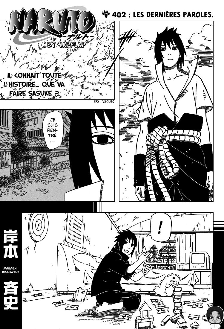 Naruto chapitre 402 - Page 1