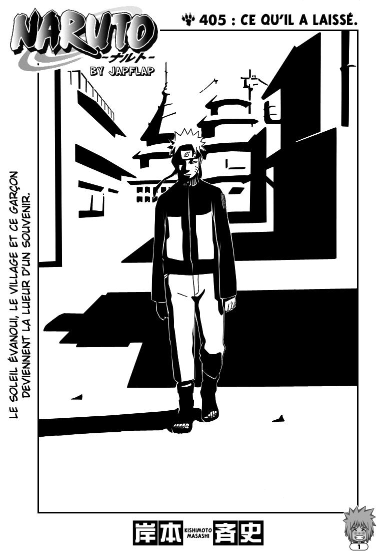 Naruto chapitre 405 - Page 1