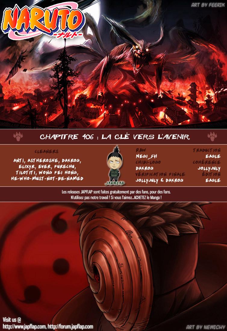 Naruto chapitre 406 - Page 18