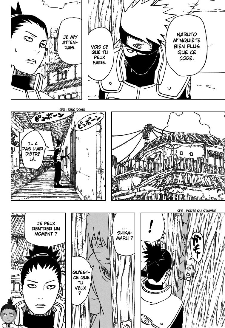 Naruto chapitre 406 - Page 10