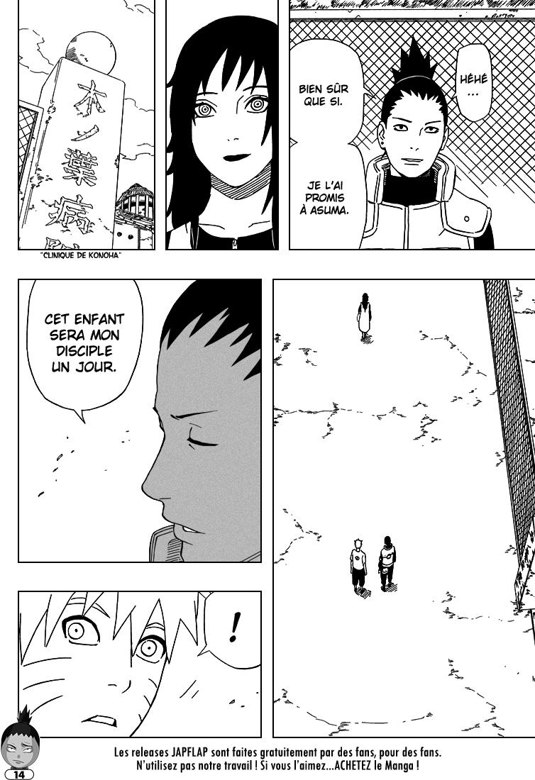 Naruto chapitre 406 - Page 14