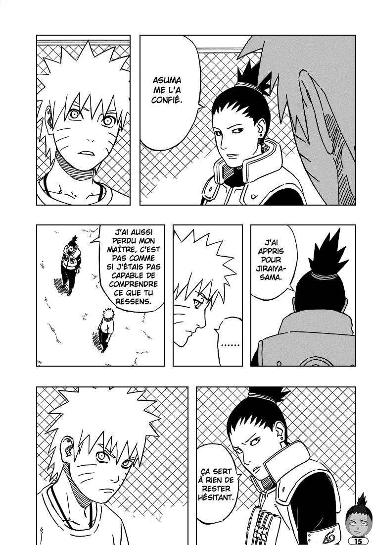 Naruto chapitre 406 - Page 15