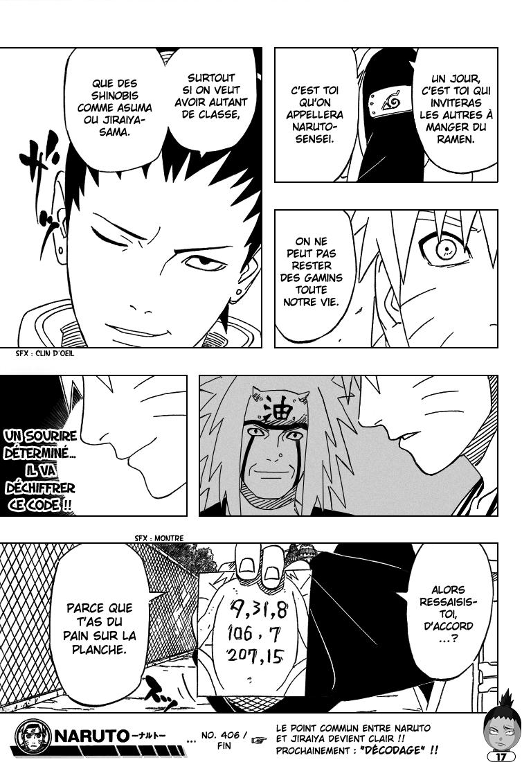 Naruto chapitre 406 - Page 17