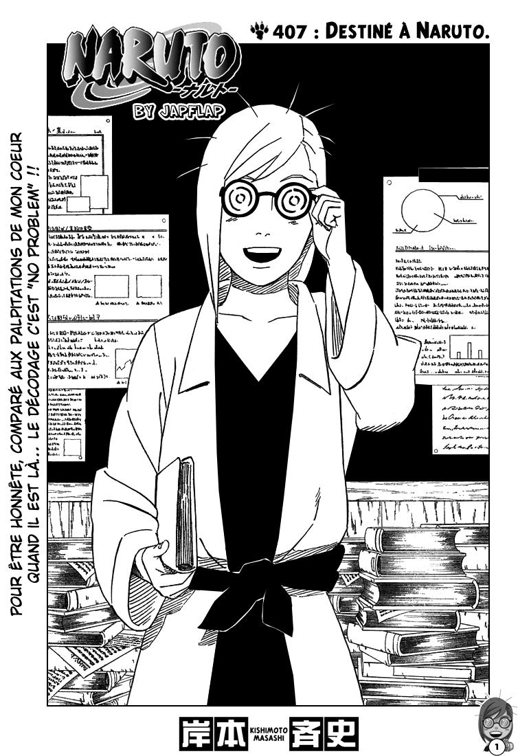 Naruto chapitre 407 - Page 1