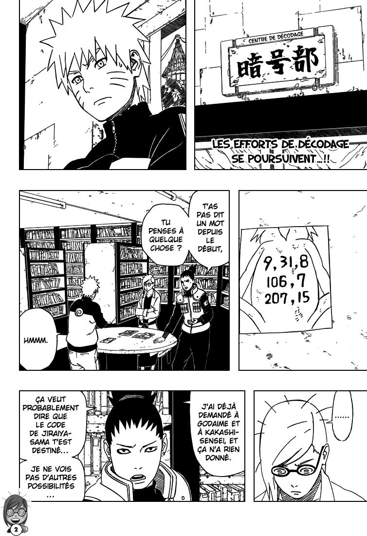 Naruto chapitre 407 - Page 2
