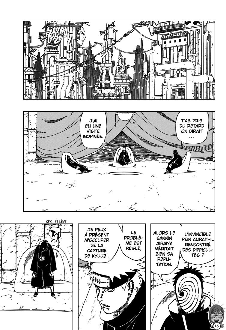 Naruto chapitre 407 - Page 15