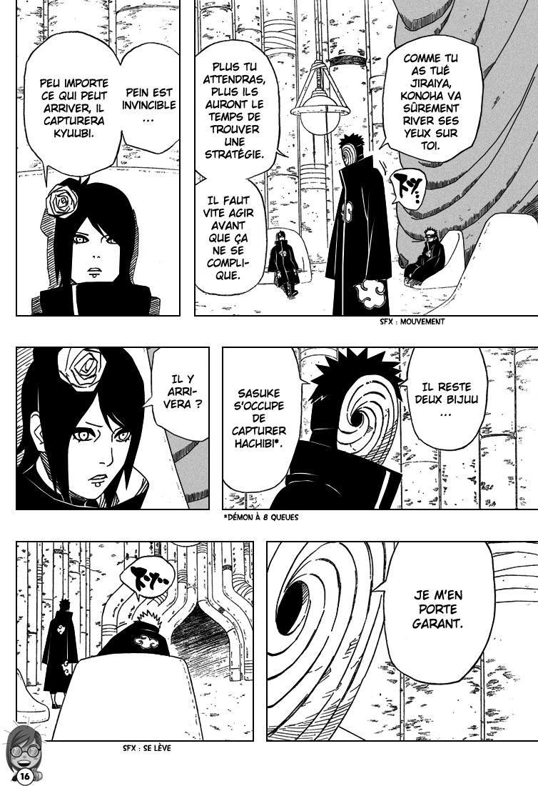 Naruto chapitre 407 - Page 16