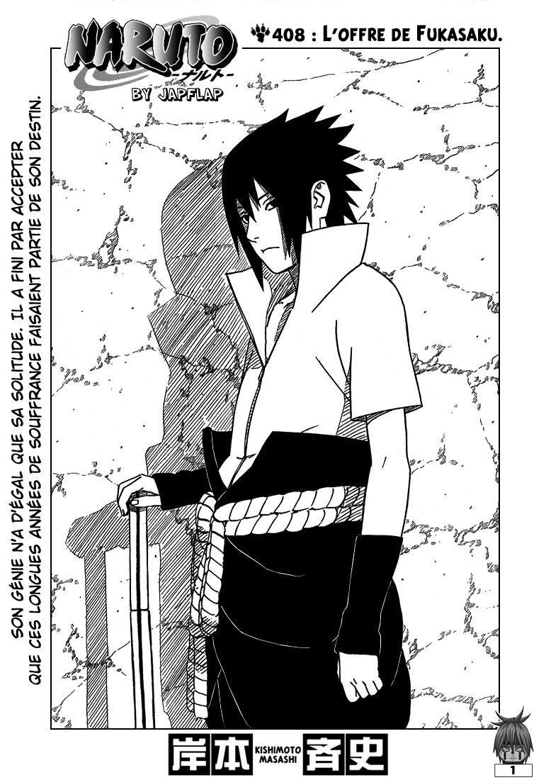 Naruto chapitre 408 - Page 1