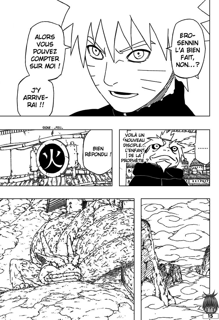 Naruto chapitre 408 - Page 15