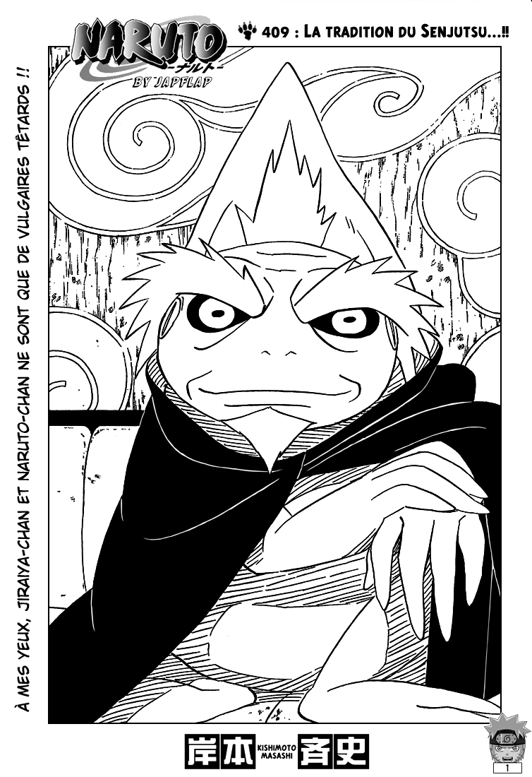 Naruto chapitre 409 - Page 1