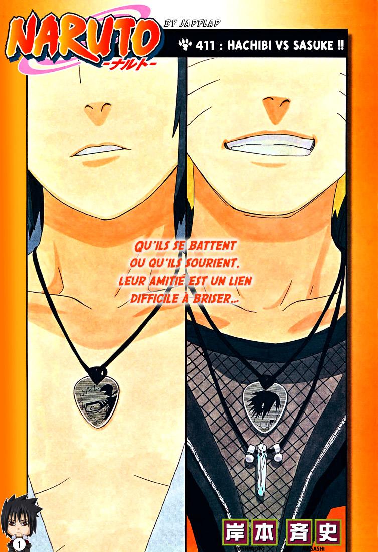 Naruto chapitre 411 - Page 1