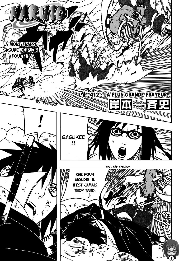 Naruto chapitre 412 - Page 1