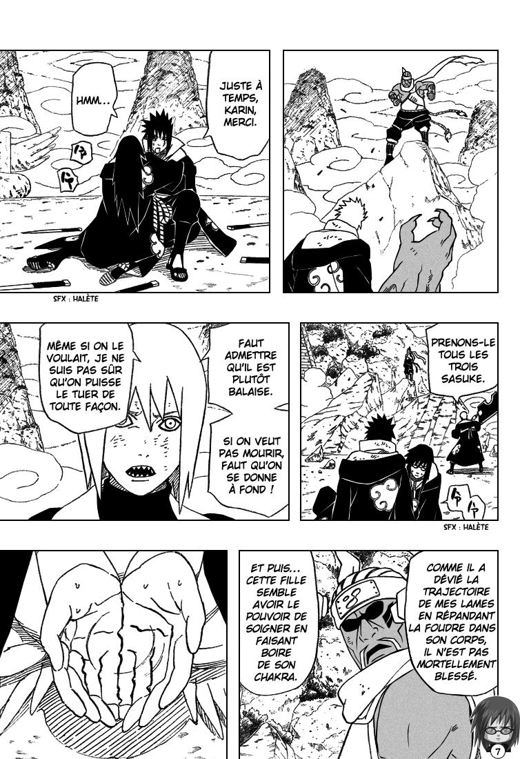 Naruto chapitre 412 - Page 7