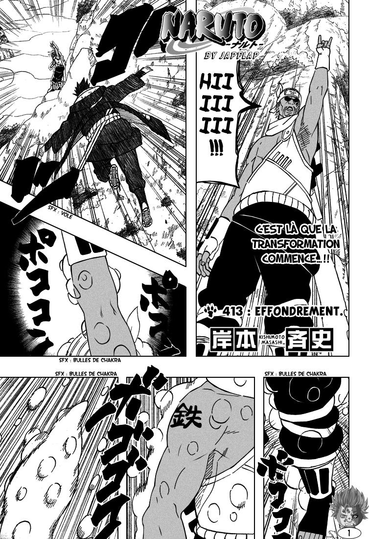 Naruto chapitre 413 - Page 1