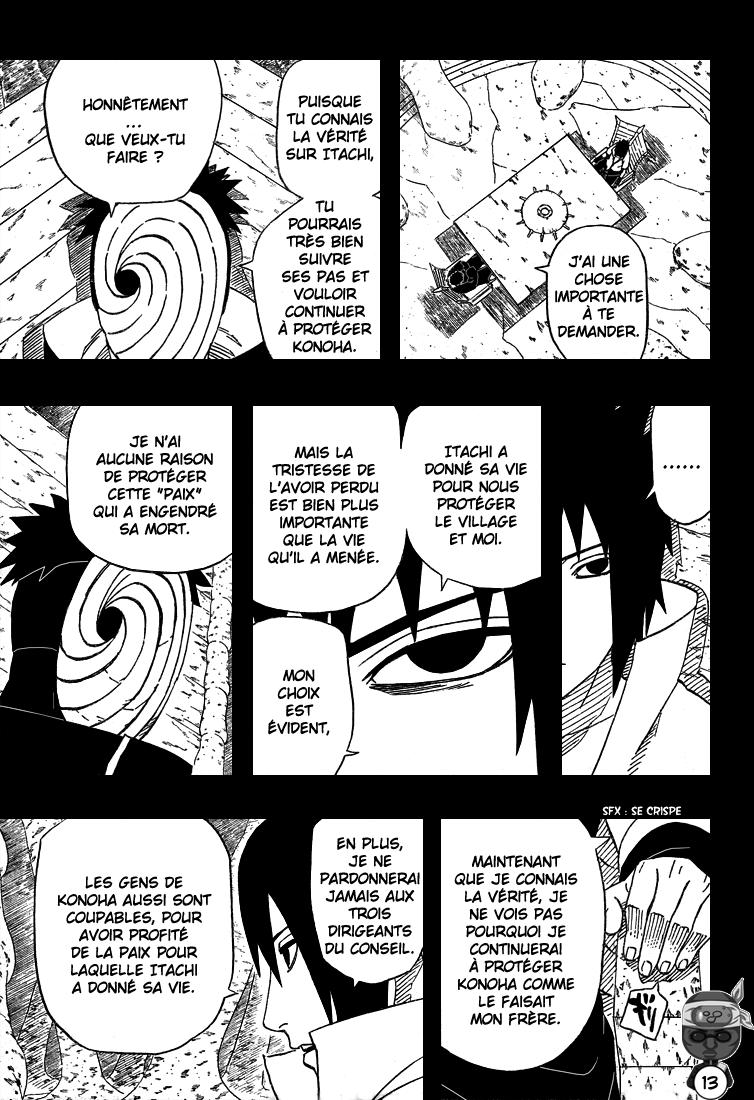 Naruto chapitre 416 - Page 13