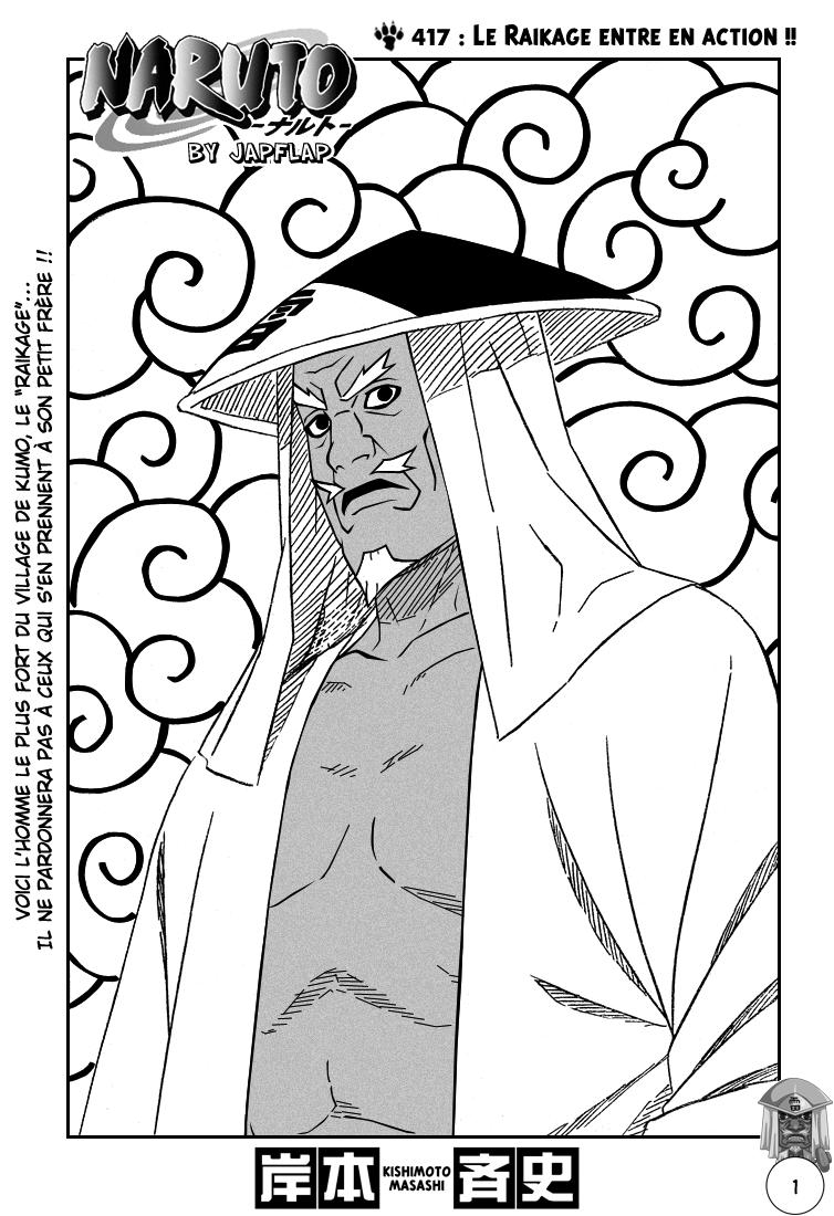 Naruto chapitre 417 - Page 1