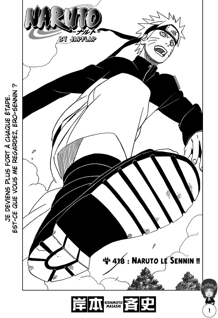 Naruto chapitre 418 - Page 1