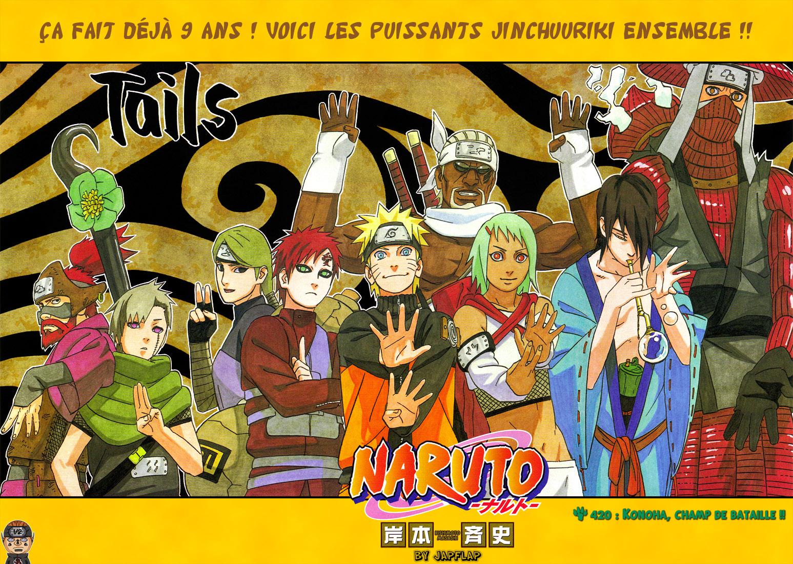 Naruto chapitre 420 - Page 1