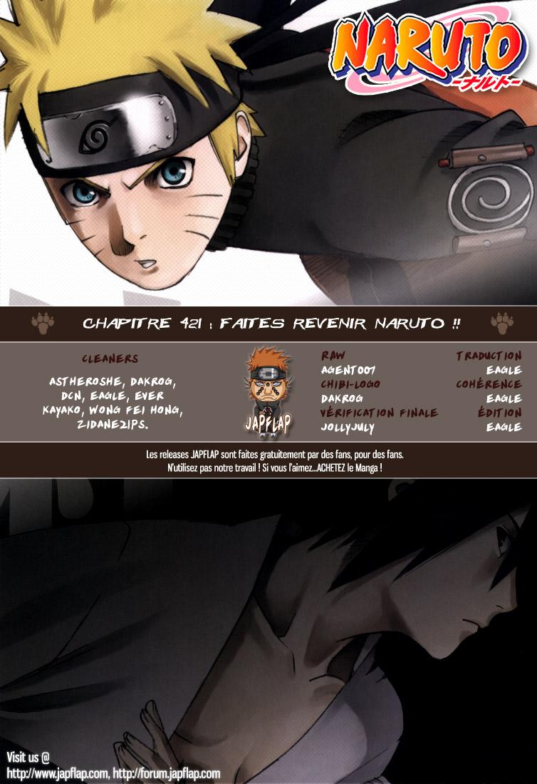 Naruto chapitre 421 - Page 18
