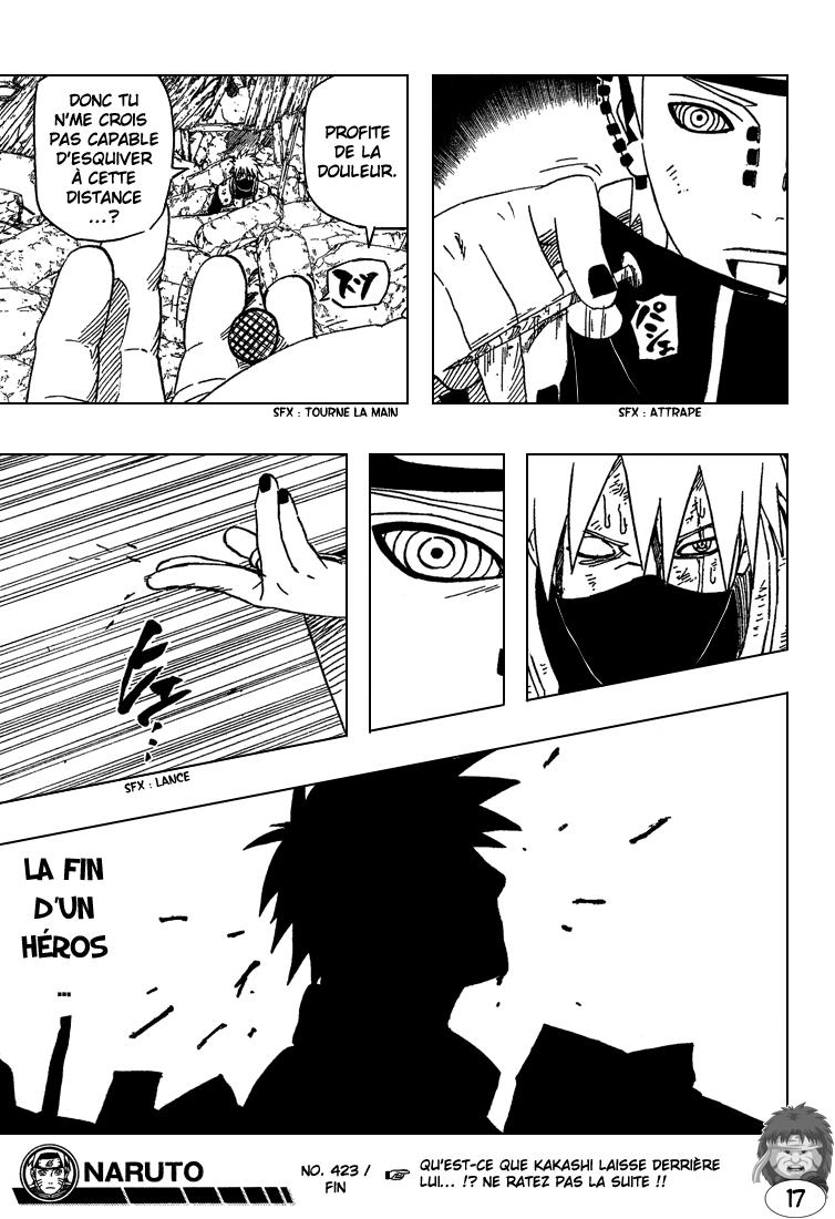 Naruto chapitre 423 - Page 16