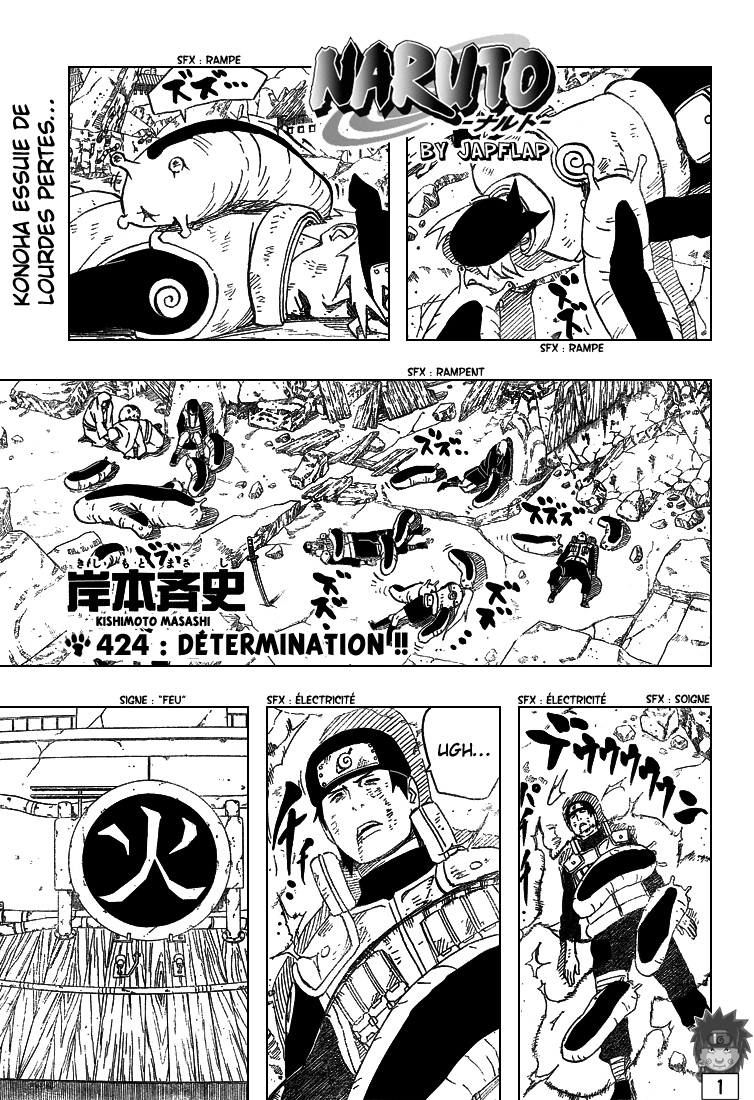 Naruto chapitre 424 - Page 1