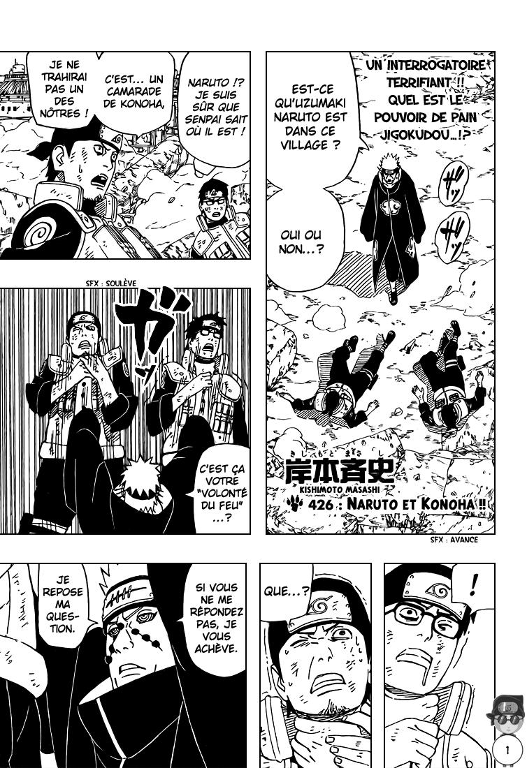 Naruto chapitre 426 - Page 1