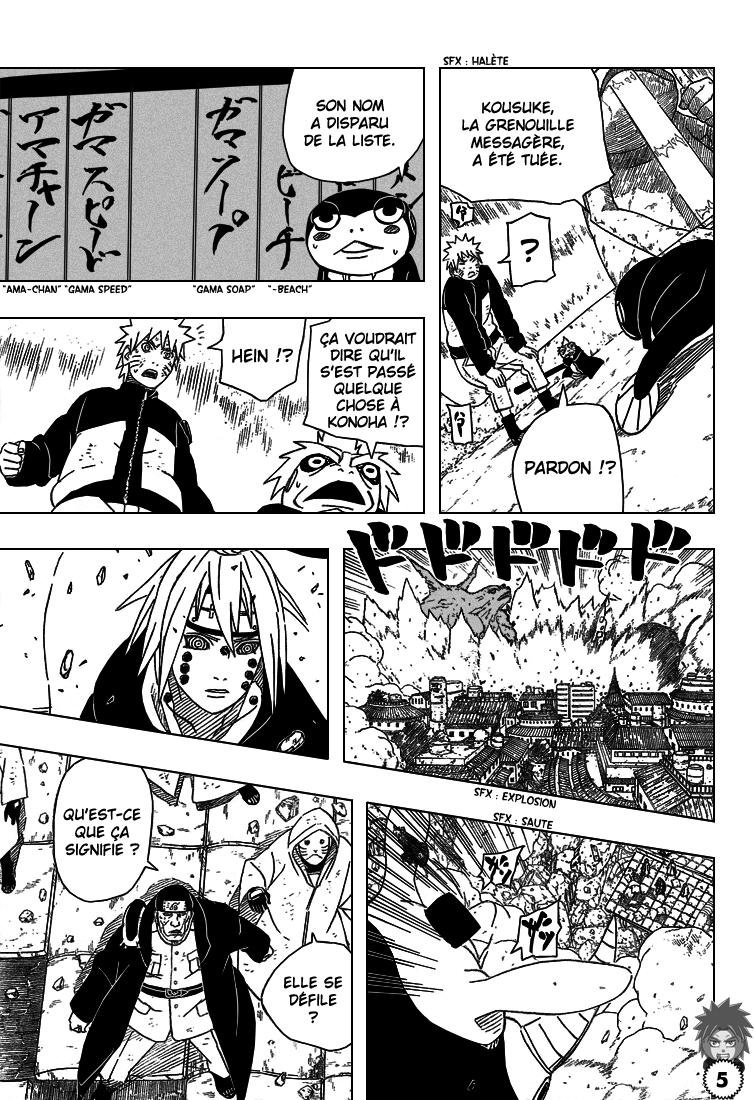 Naruto chapitre 429 - Page 5