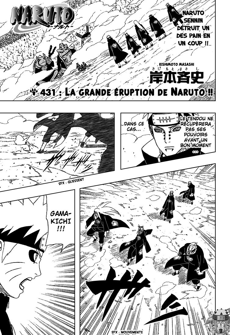 Naruto chapitre 431 - Page 1