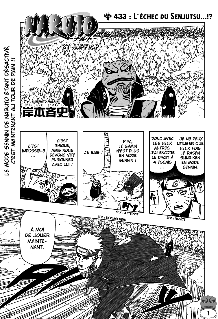 Naruto chapitre 433 - Page 1