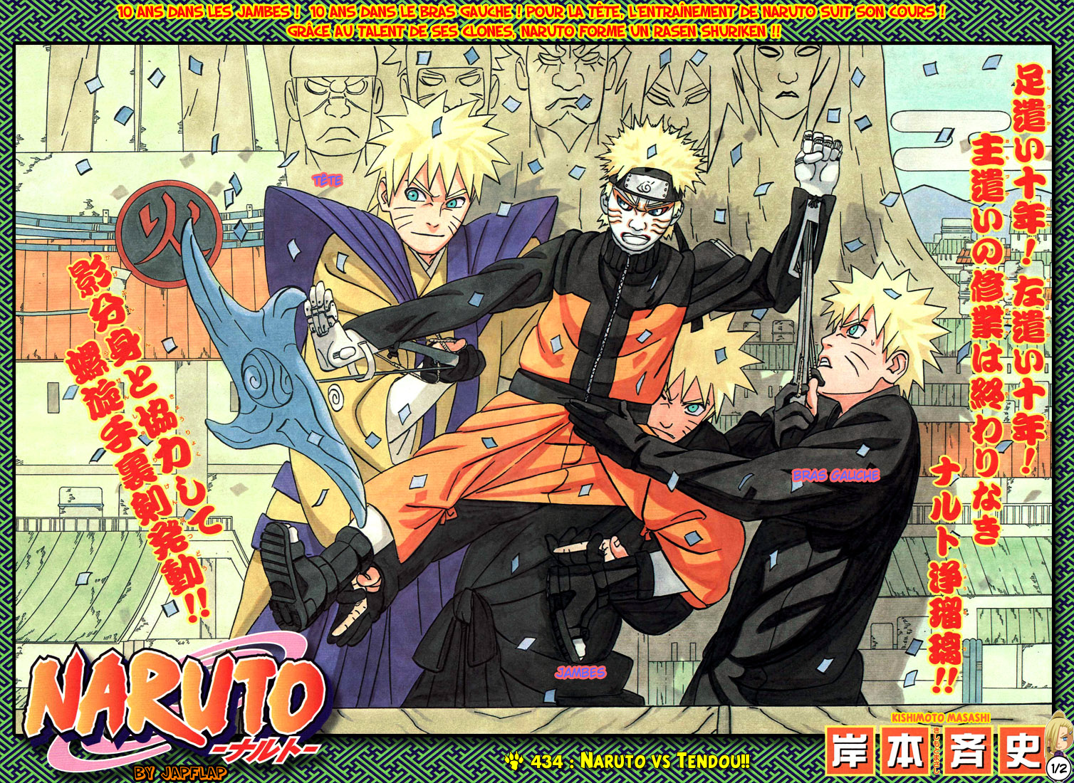 Naruto chapitre 434 - Page 1