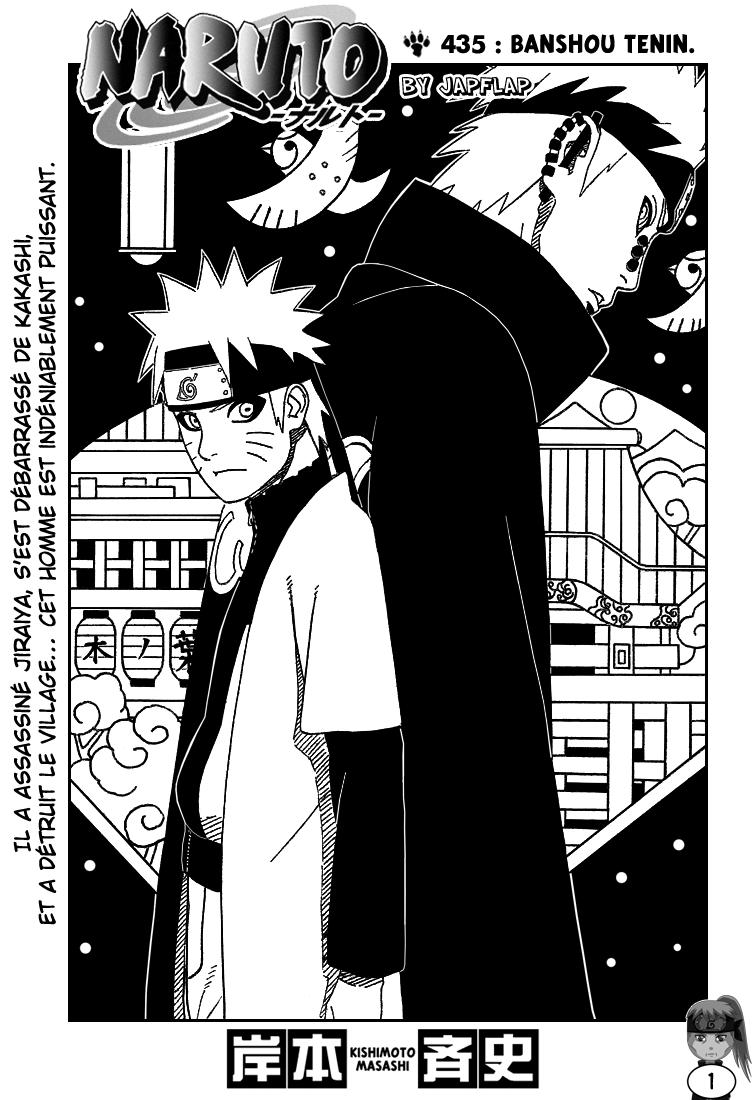 Naruto chapitre 435 - Page 1
