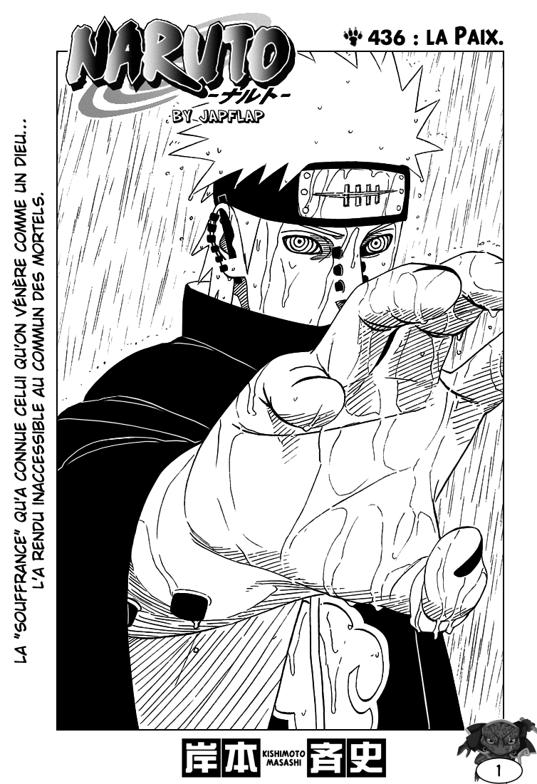 Naruto chapitre 436 - Page 1