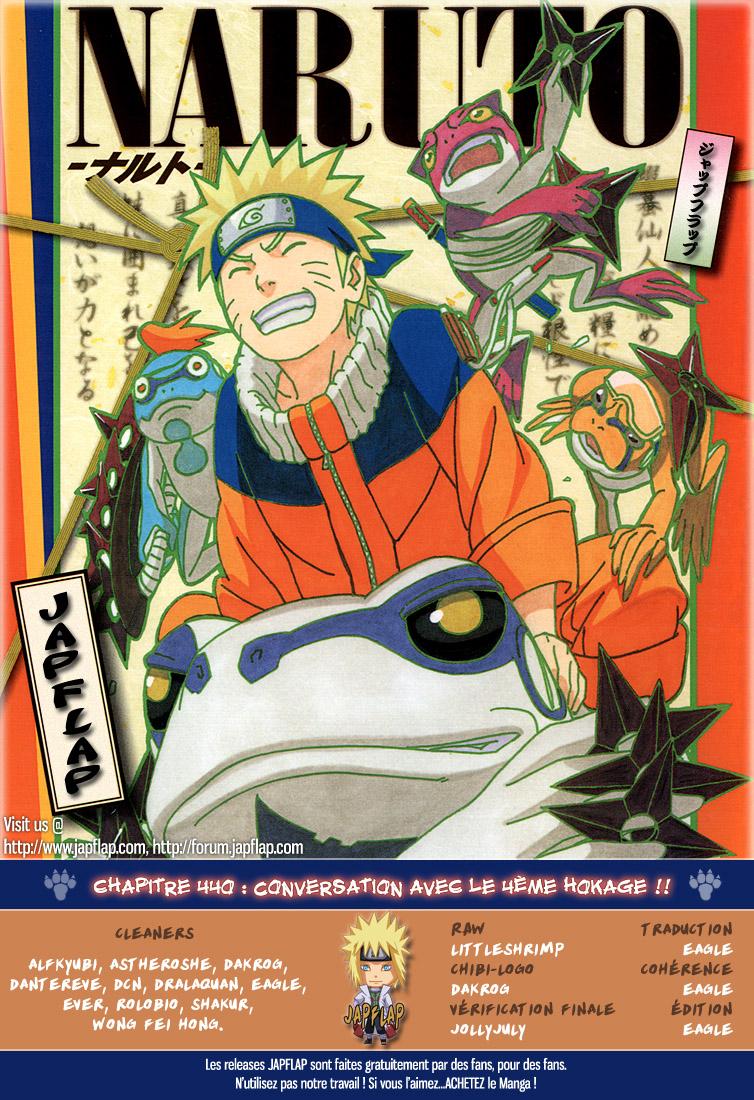 Naruto chapitre 440 - Page 18