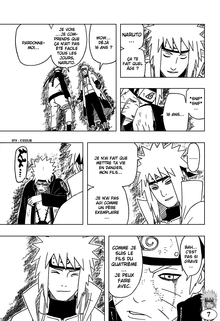 Naruto chapitre 440 - Page 7
