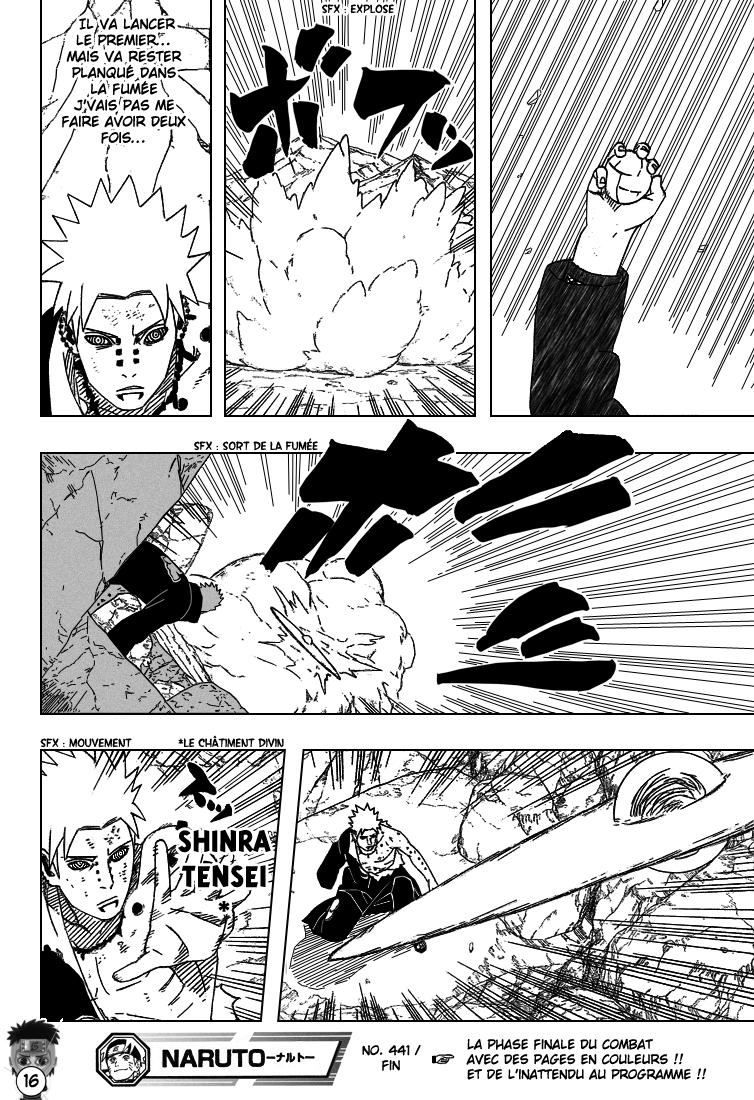 Naruto chapitre 441 - Page 16