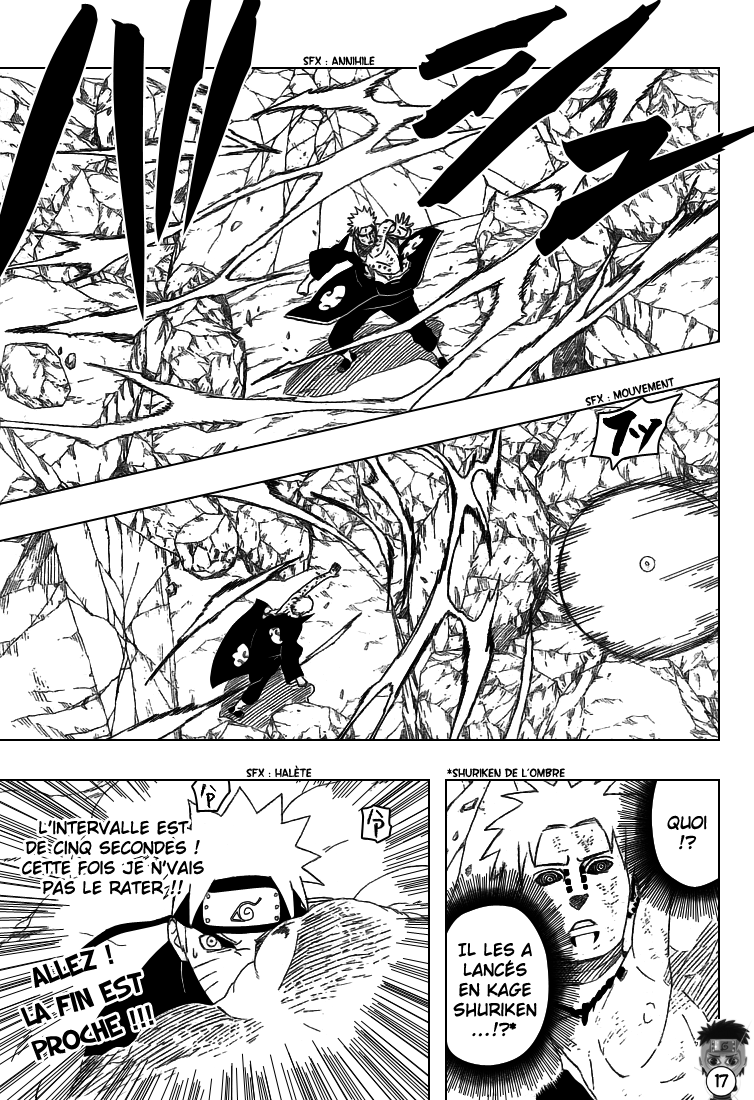Naruto chapitre 441 - Page 17
