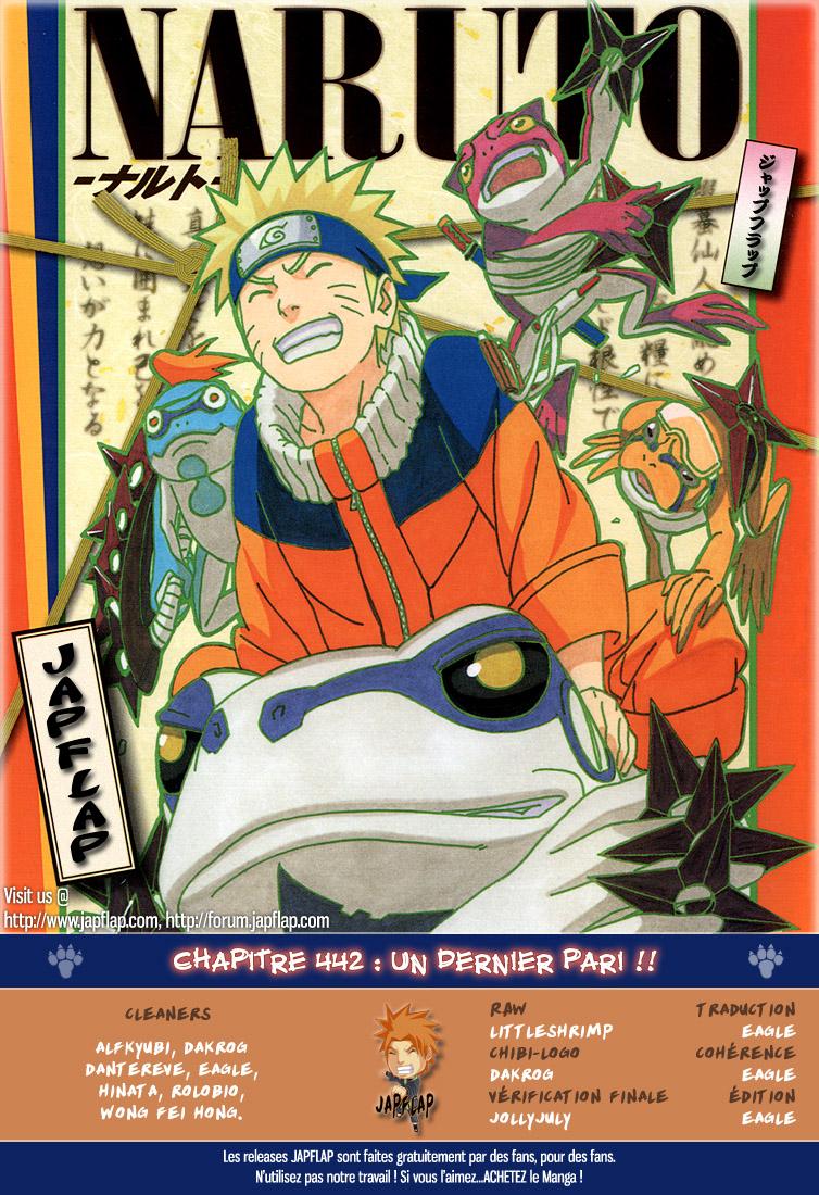 Naruto chapitre 442 - Page 18