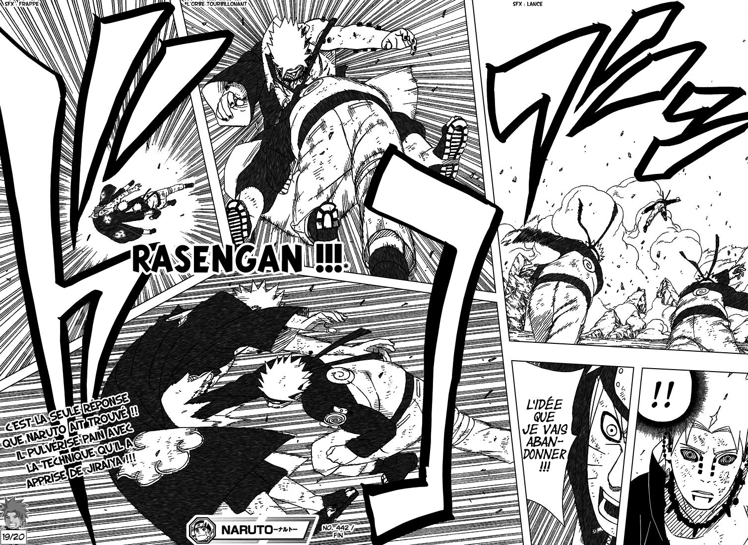 Naruto chapitre 442 - Page 17