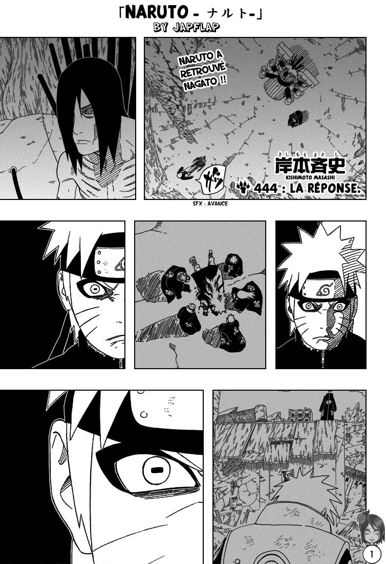 Naruto chapitre 444 - Page 1