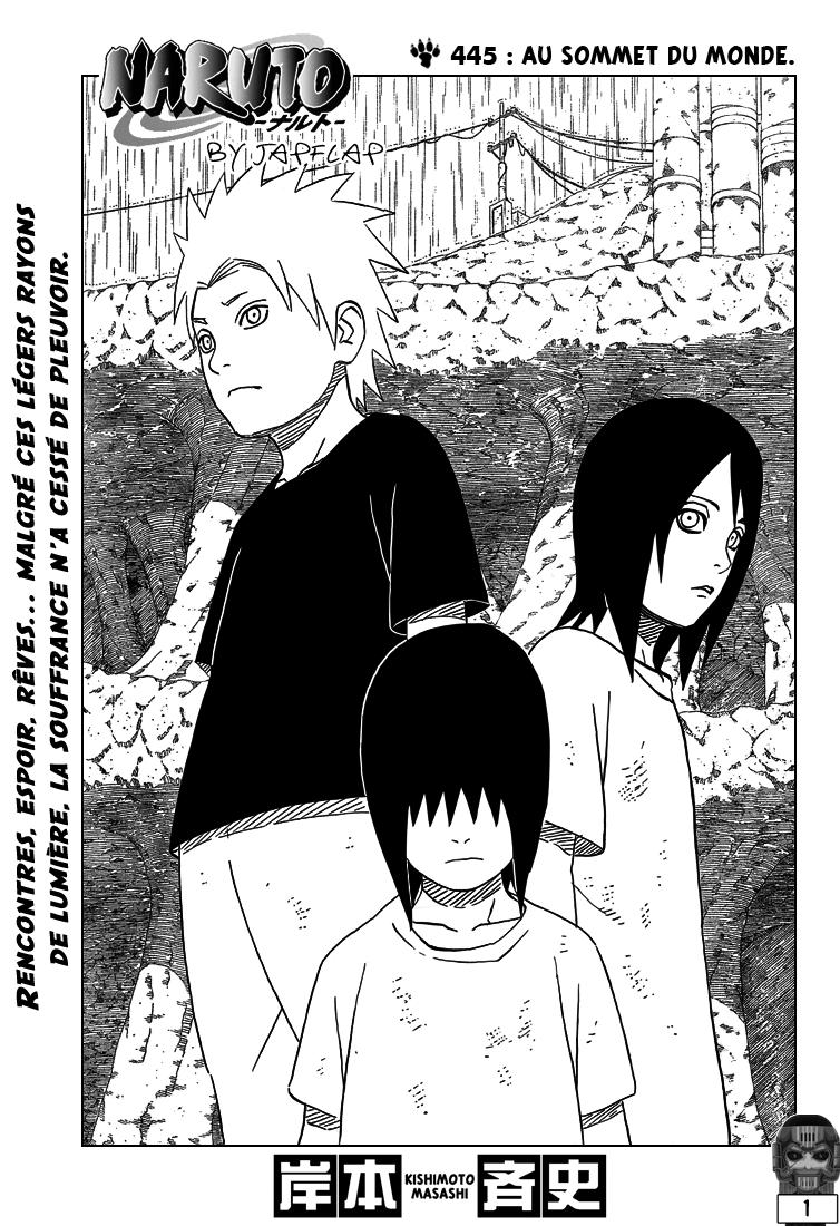 Naruto chapitre 445 - Page 1