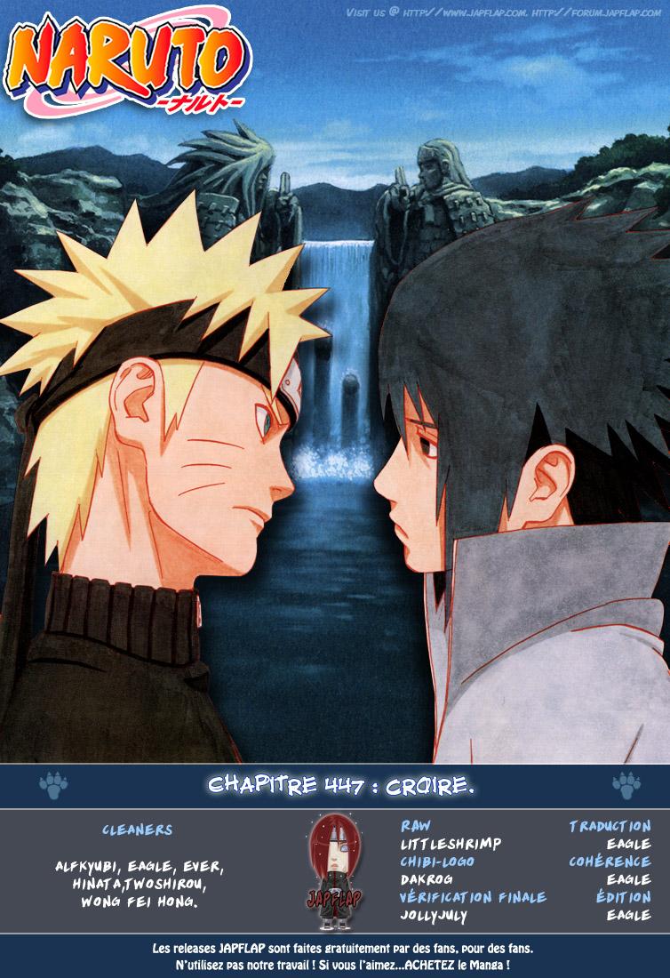 Naruto chapitre 447 - Page 18