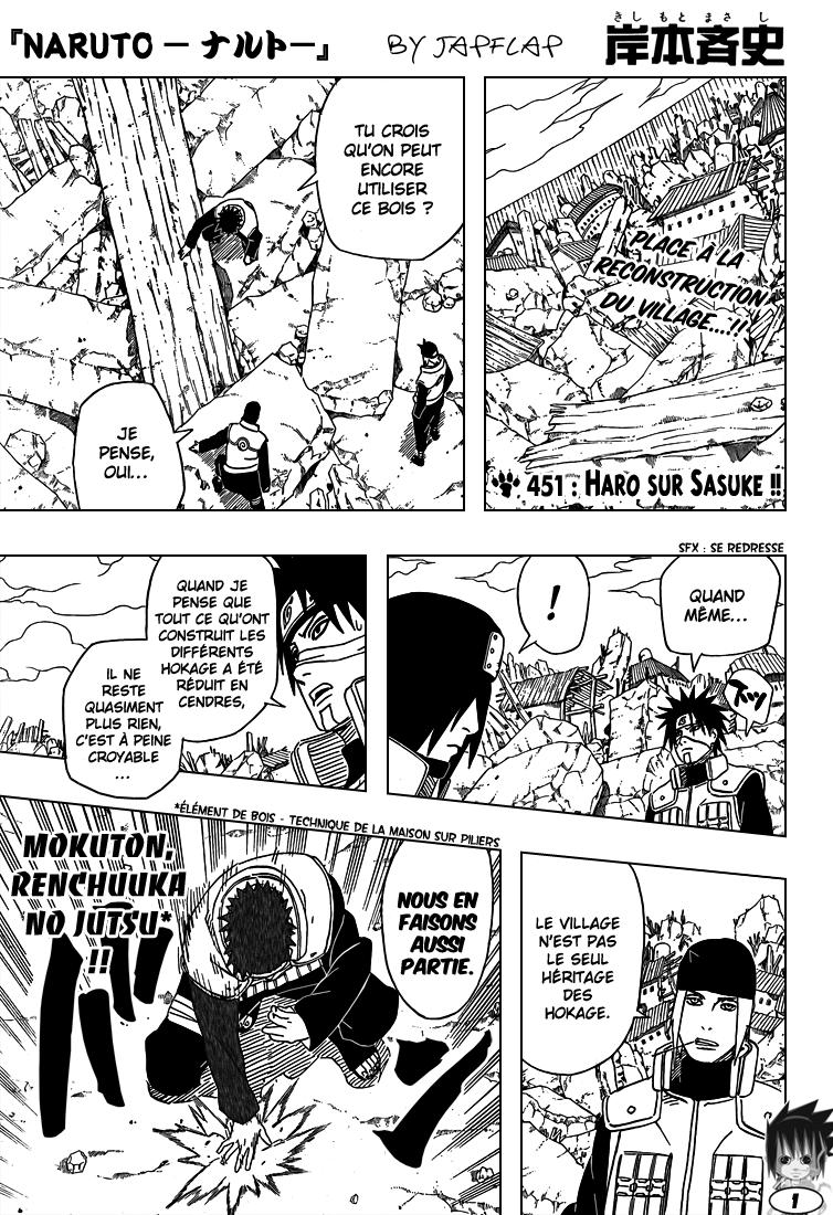Naruto chapitre 451 - Page 1