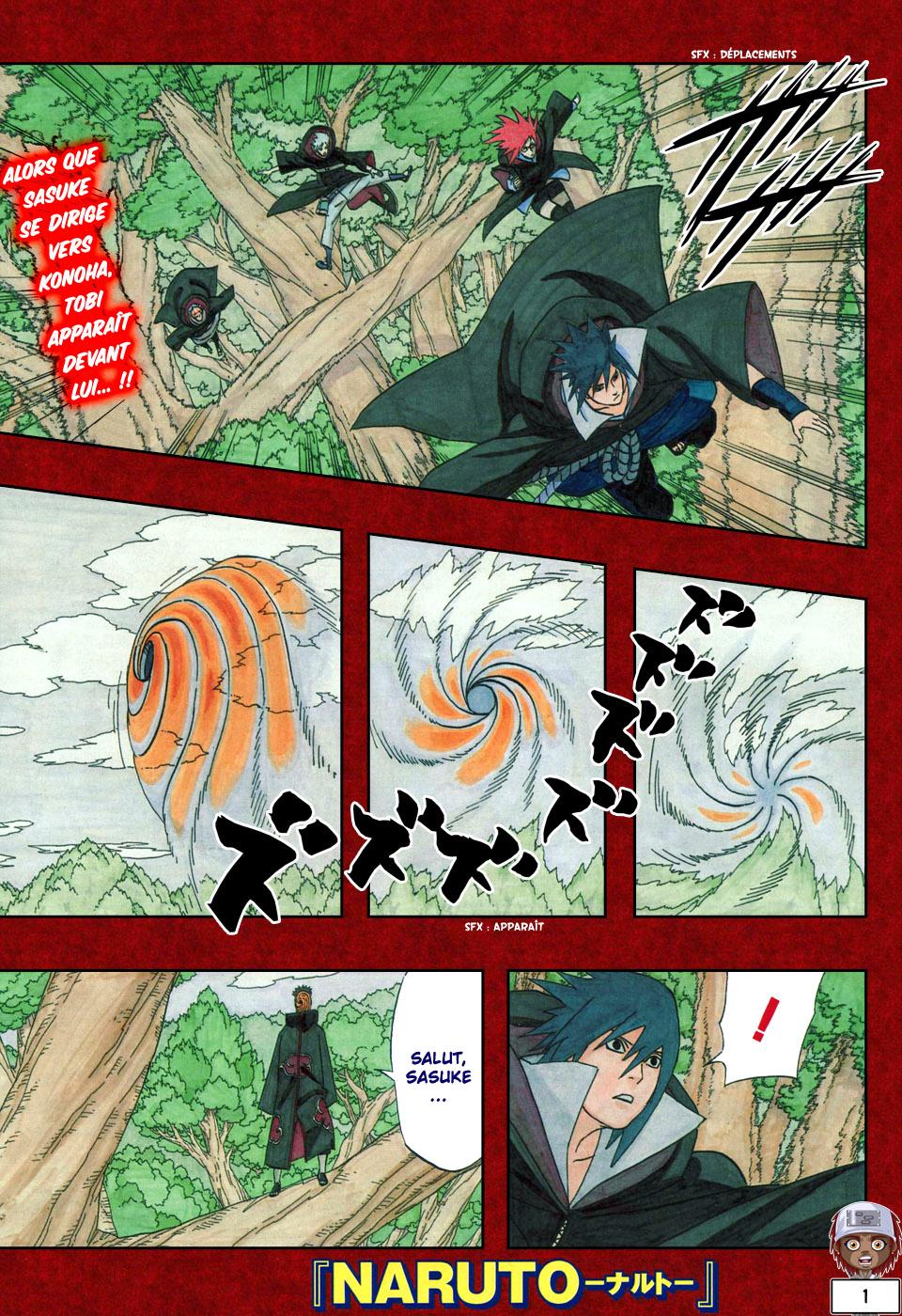 Naruto chapitre 453 - Page 1