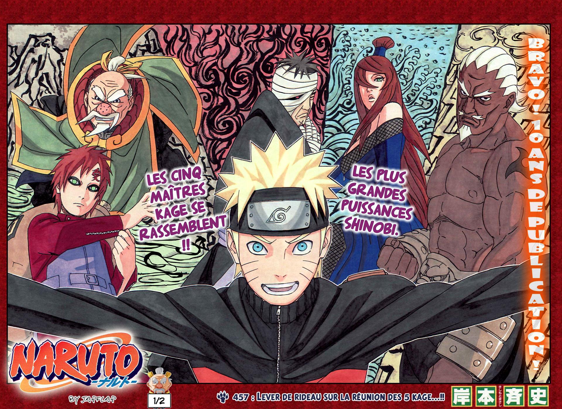 Naruto chapitre 457 - Page 1