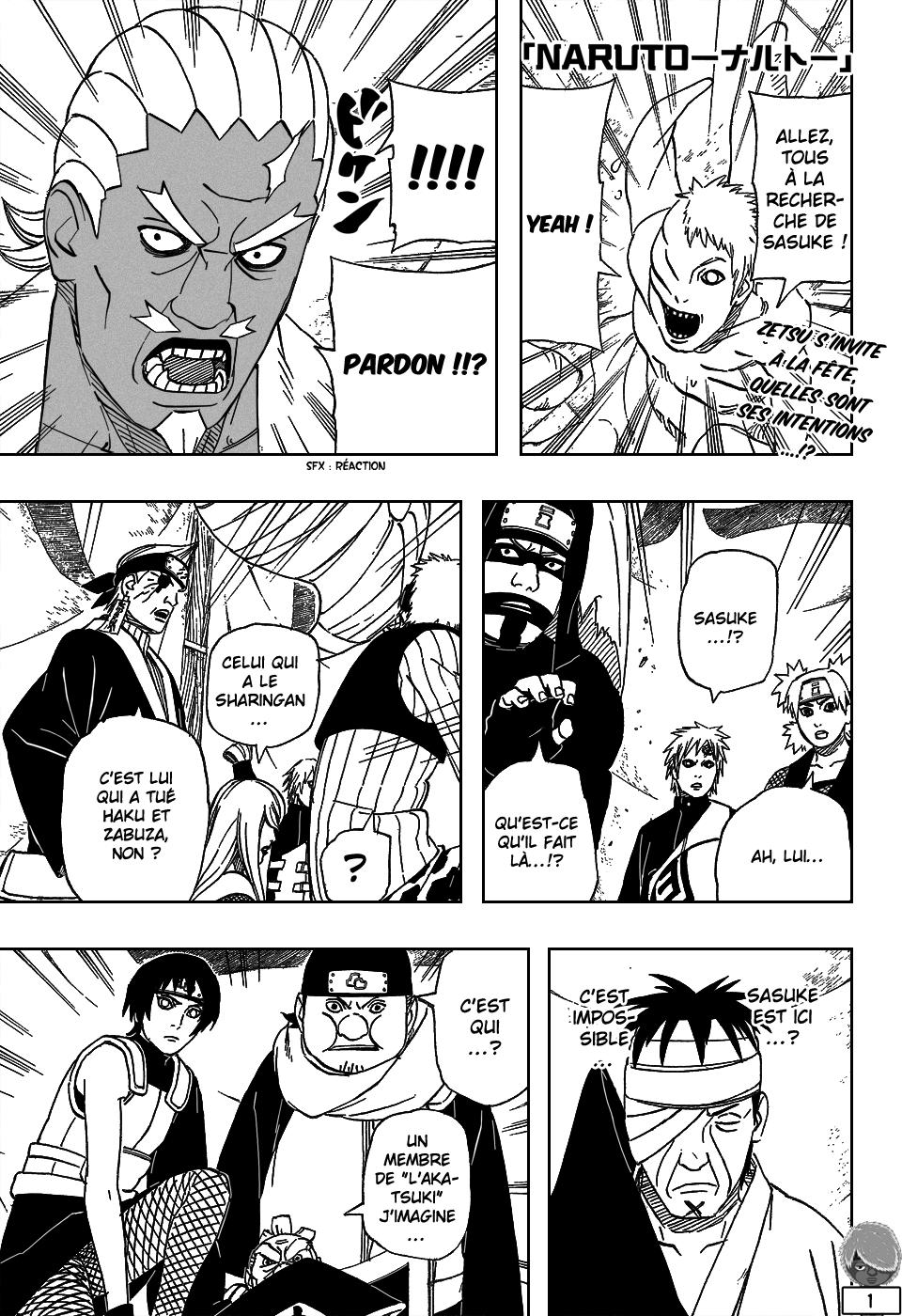 Naruto chapitre 460 - Page 1