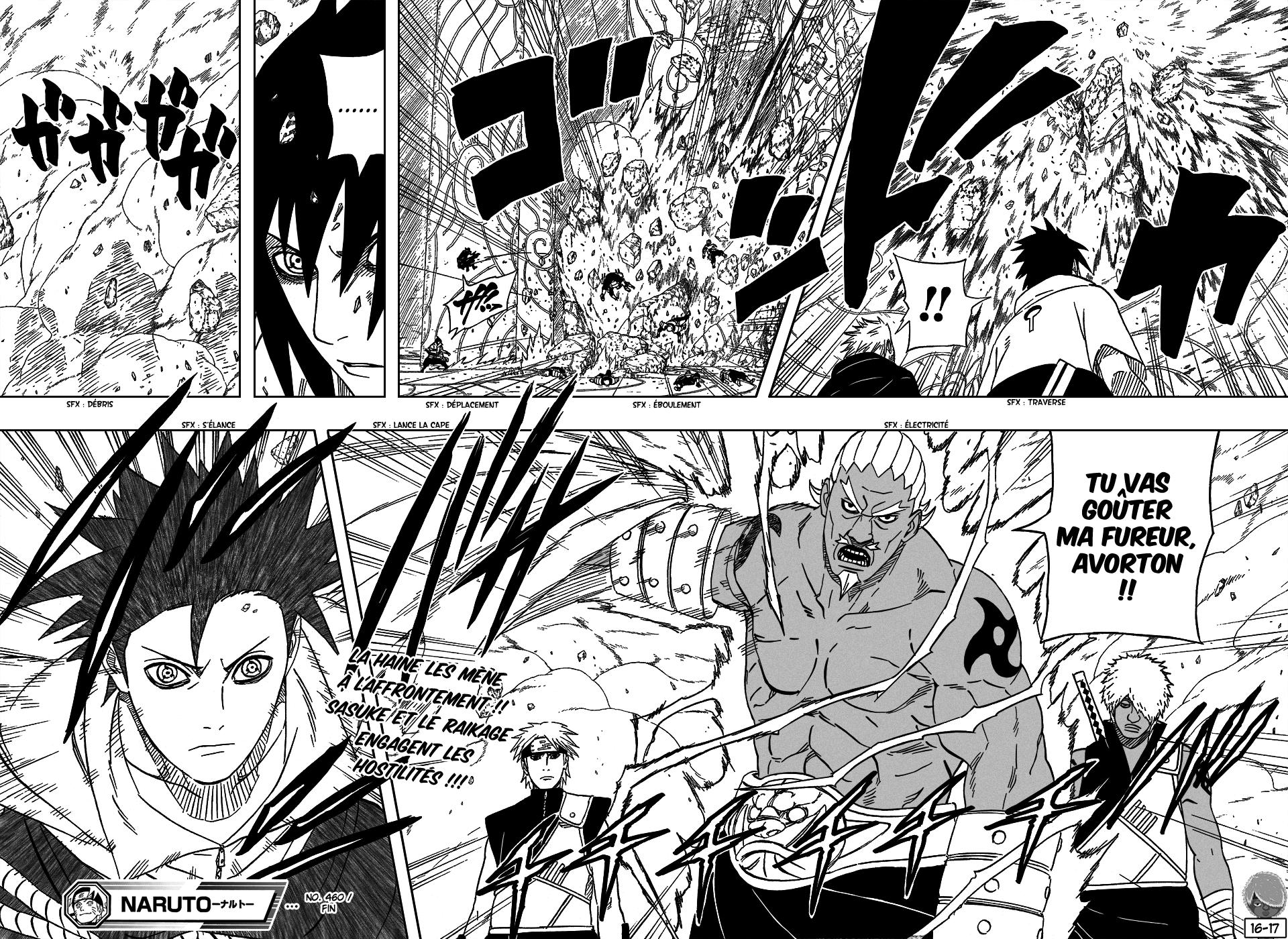 Naruto chapitre 460 - Page 16