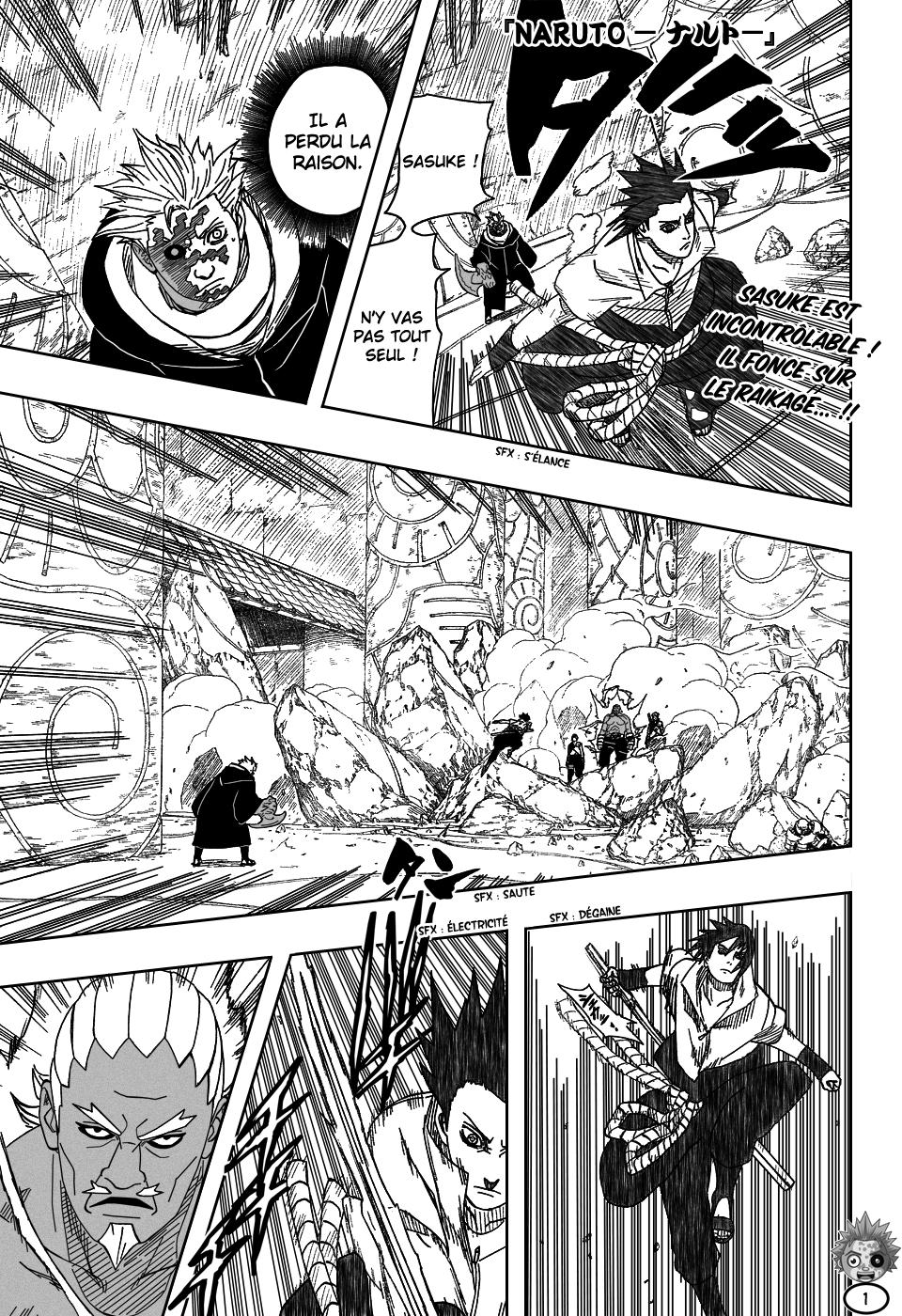 Naruto chapitre 461 - Page 1