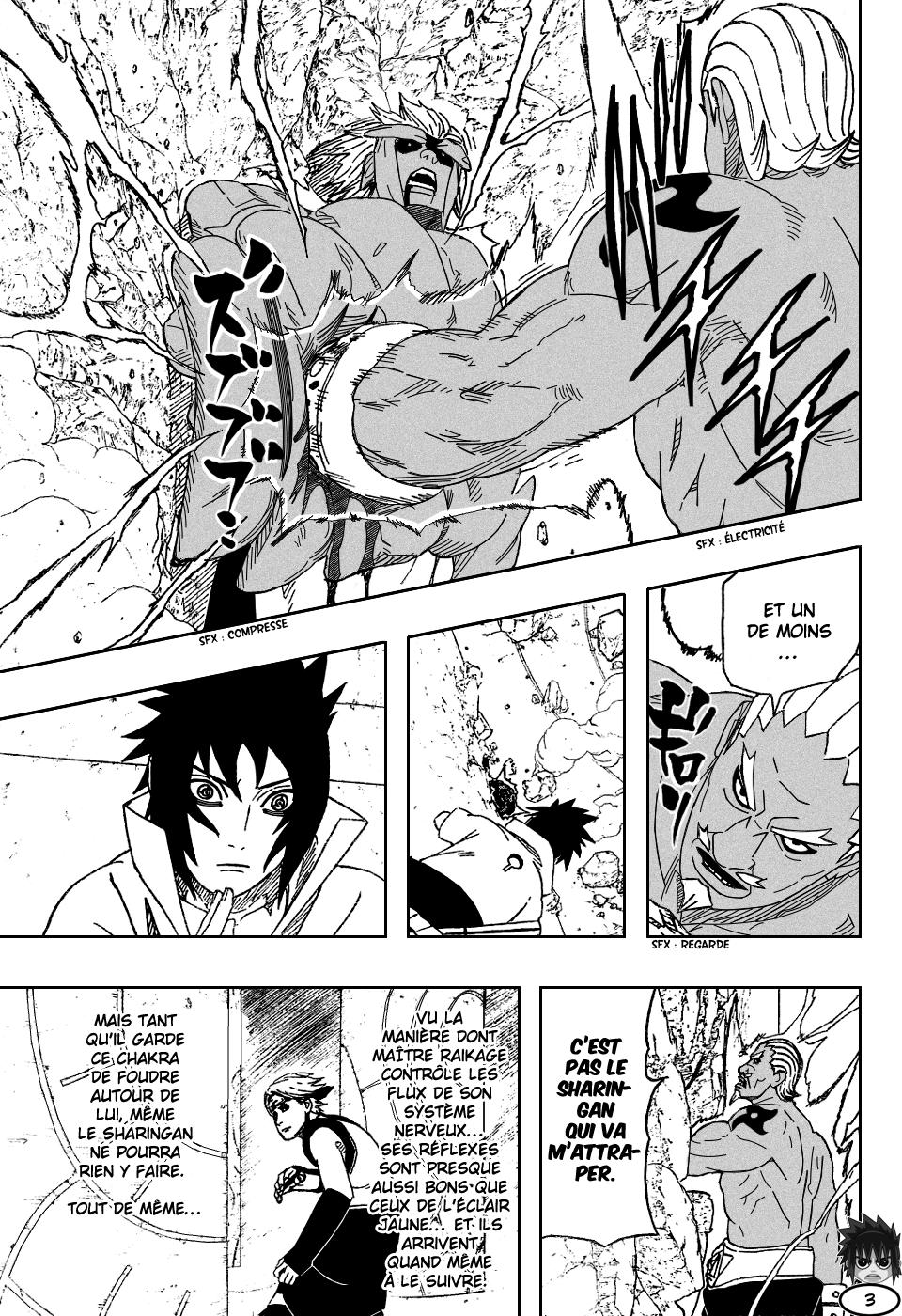 Naruto chapitre 462 - Page 3