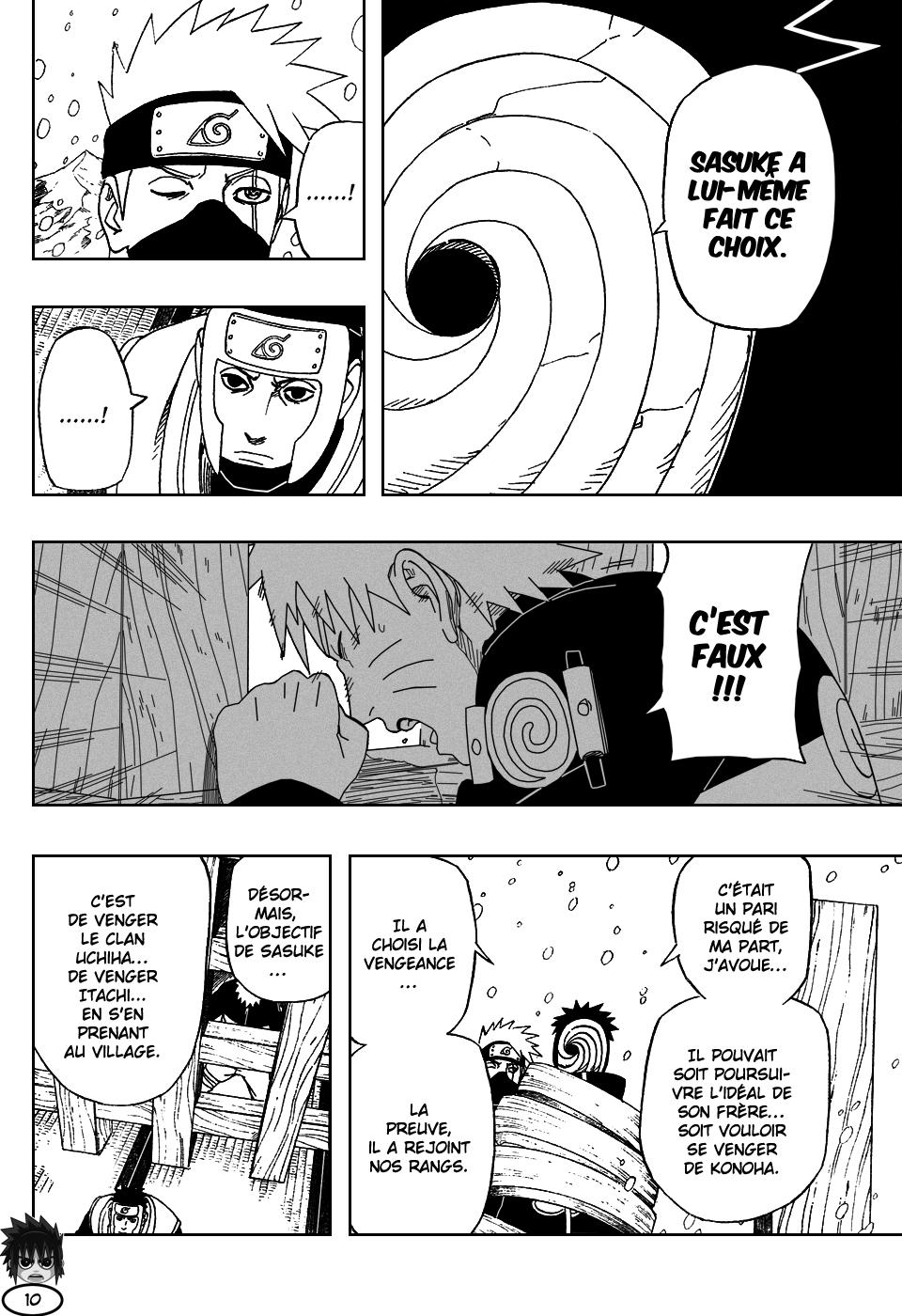 Naruto chapitre 462 - Page 10